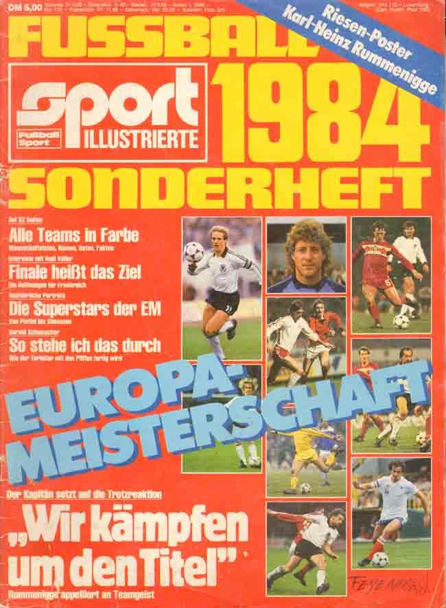fussball em 1984