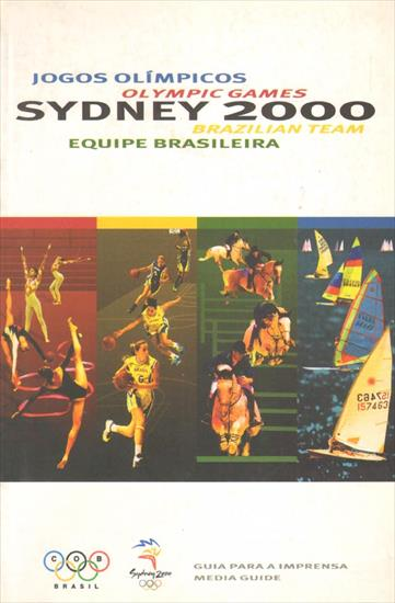 OLYMPIC GAMES SYDNEY 2000. MEDIA GUIDE BRAZILIAN TEAM