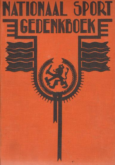 NATIONAAL SPORTGEDENKBOEK 1928 (TOP BOOK !)