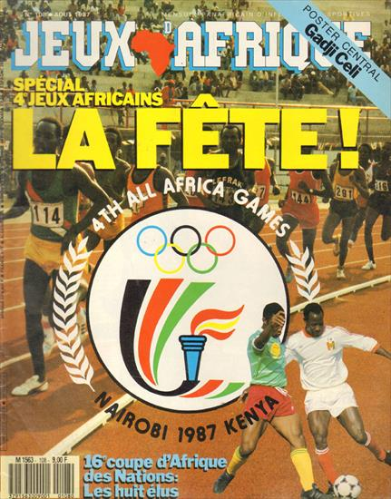 SET PREVIEW & REVIEW 4th ALL AFRICA GAMES - 4° JEUX AFRICAINS 1987