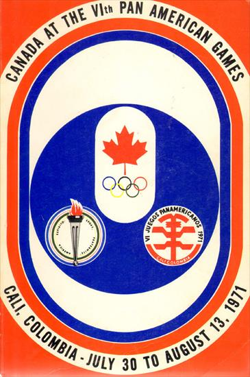 OFFICIAL REPORT CANADA AT THE VIth PAN AMERICAN GAMES CALI 1971 (Complete Record)