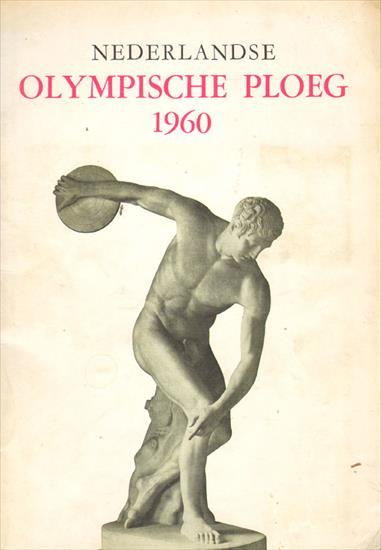 COMPLETE CARD ALBUM - DE NEDERLANDSE OLYMPISCHE PLOEG 1960 (The Dutch Olympic Team 1960)