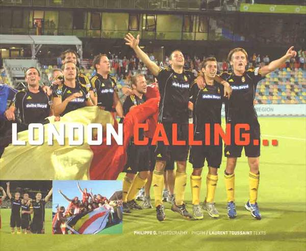 LONDON CALLING... THE BELGIAN MEN & WOMEN OLYMPIC HOCKEY TEAM (Top X-L !!)