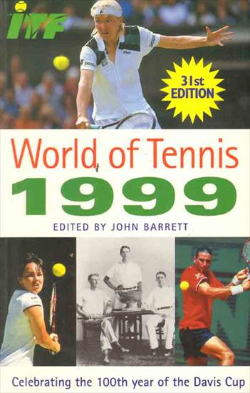 WORLD OF TENNIS YEARBOOK 1999