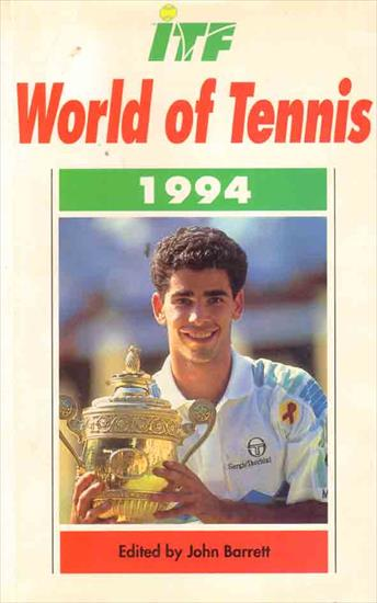 WORLD OF TENNIS YEARBOOK 1994