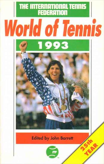 WORLD OF TENNIS YEARBOOK 1993
