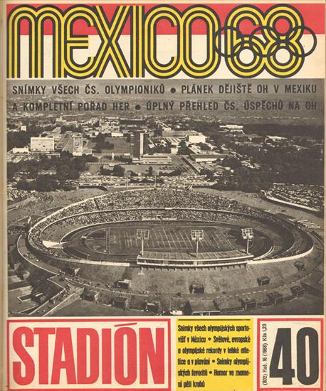 STADION 1968 (CZECHO-SLOVAKIA). COMPLETE YEAR - 52 Issues - 1664 Pages !