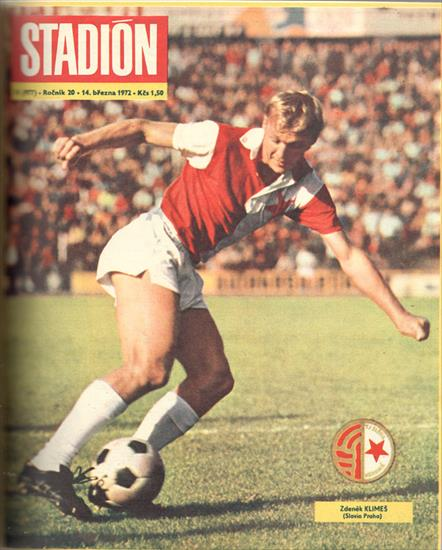 STADION 1972 (CZECHO-SLOVAKIA). COMPLETE YEAR - 52 Issues - 1664 Pages ! (w full colour teamphotos)