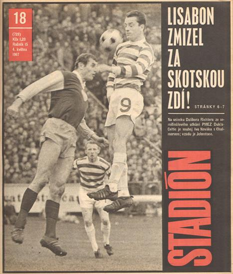 STADION 1967 (CZECHO-SLOVAKIA). COMPLETE YEAR - 52 Issues - 1664 Pages !