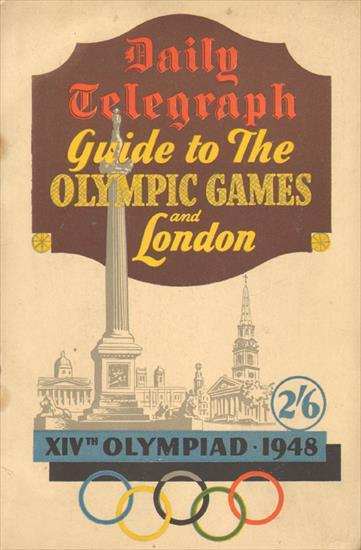 DAILY TELEGRAPH GUIDE TO THE OLYMPIC GAMES AND LONDON. XIVth OLYMPIAD 1948