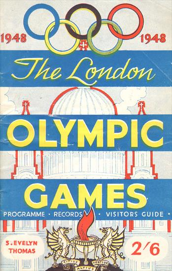 1948 - THE LONDON OLYMPIC GAMES. Programme - Records - Visitors Guide.