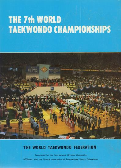 OFFICIAL REPORT BOOK 7TH WORLD TAEKWONDO CHAMPIONSHIP 1985 KOREA