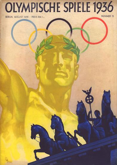 OLYMPISCHE SPIELE 1936 (N° 15 - Offizielles Olympia Heft)(08.1936)