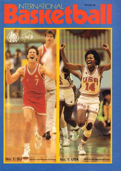 REVIEW OLYMPIC GAMES BASKETBALL TOURNAMENT 1988 (Top) (Official FIBA Magazine)