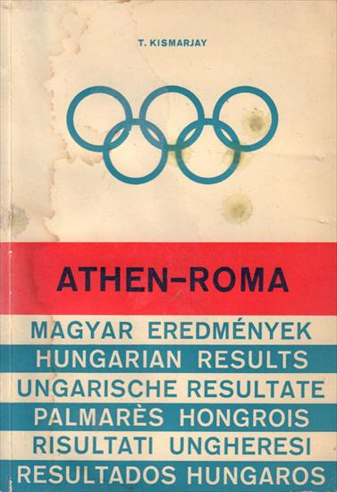 ATHEN-ROMA. HUNGARIAN RESULTS (OLYMPIC GAMES)