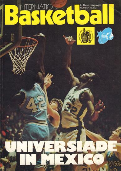 BASKETBALL CHAMPIONSHIP FOR WOMEN 1979 (Official FIBA Magazine)