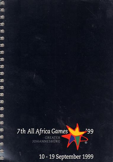 OFFICIAL REPORT 7th ALL AFRICA GAMES JOHANNESBURG 1999 (5 Volumes !!)