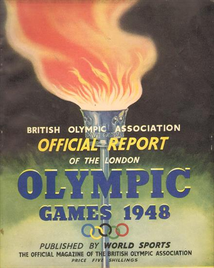 British Olympic Association OFFICIAL REPORT OF THE OLYMPIC GAMES 1948