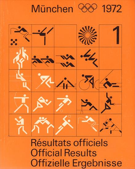 OLYMPIC GAMES MÜNCHEN 1972. OFFICIAL RESULTS (2 Volumes)