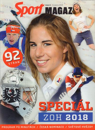 PREVIEW / MEDIA GUIDE SLOVAKIA WINTER OLYMPIC GAMES 2018 (w Portraits of all the Athletes)
