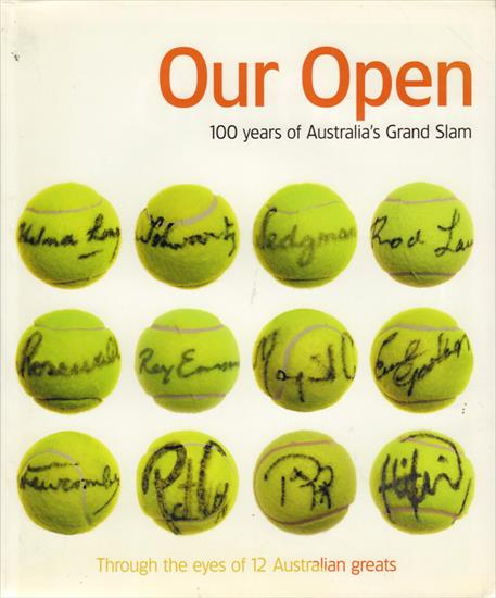 OUR OPEN : 100 YEARS OF AUSTRALIA