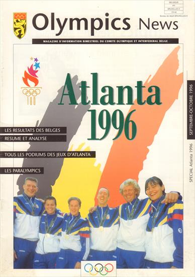 OFFICIAL REPORT BELGIUM OLYMPIC GAMES ATLANTA 1996