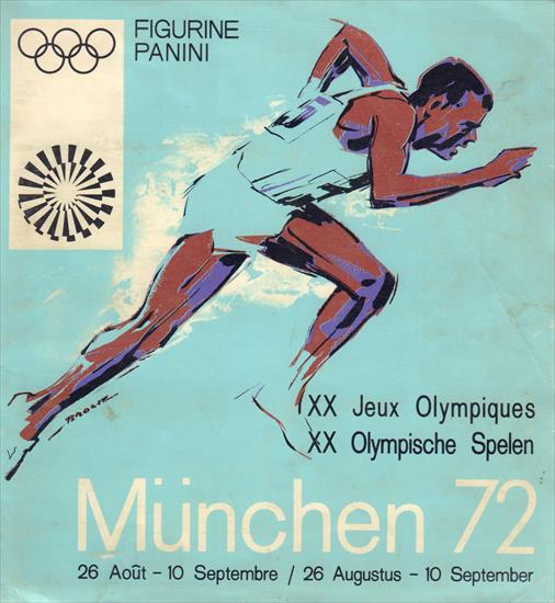 COMPLETE PANINI ALBUM MÜNCHEN 72 OLYMPIC GAMES / JEUX OLYMPIQUES