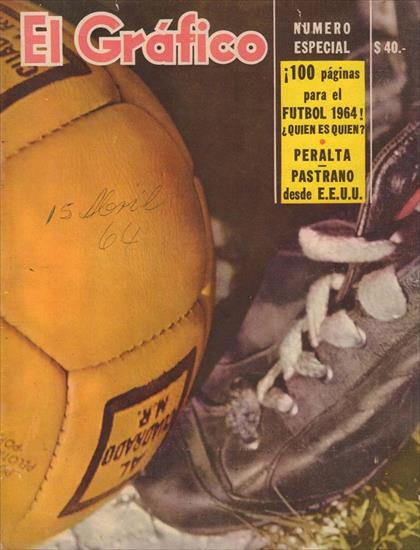 GUIDE / PREVIEW ARGENTINA 1964 (El Grafico) (w player portraits)