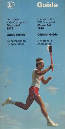 GAMES OF THE XXI OLYMPIAD MONTREAL 1976 OFFICIAL GUIDE