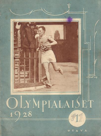 OLYMPIALAISET 1928. A HISTORY OF TRACK & FIELD AT THE OLYMPICS 1896-1924