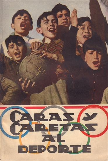 CARAS Y CARETAS AL DEPORTE. (Top History Sports in Argentina 1936)