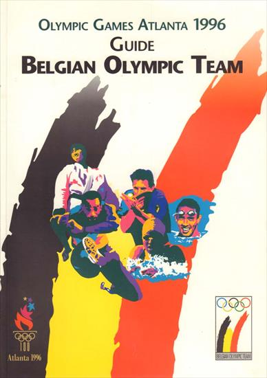 MEDIA GUIDE BELGIUM OLYMPIC GAMES ATLANTA 1996
