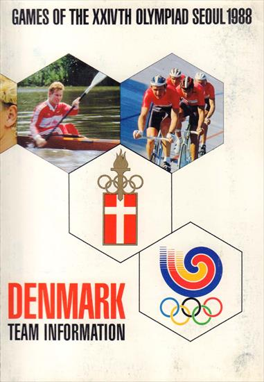 MEDIA GUIDE DENMARK OLYMPIC GAMES SEOUL 1988