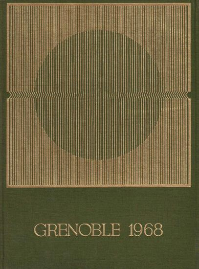 OFFICIAL REPORT OLYMPIC WINTER GAMES GRENOBLE 1968 (2 Volumes) - Xèmes JEUX OLYMPIQUES D