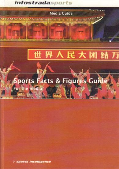 MEDIA GUIDE OLYMPIC GAMES BEIJING 2008