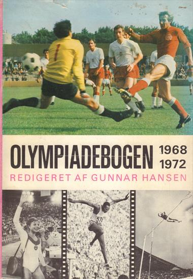 OLYMPIADEBOGEN 1968-1972 (Denmark Review Olympic Games)