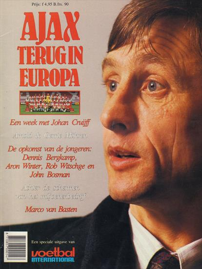 AJAX TERUG IN EUROPA (The Road To The 1987 European Cup FInal)(Special VI)