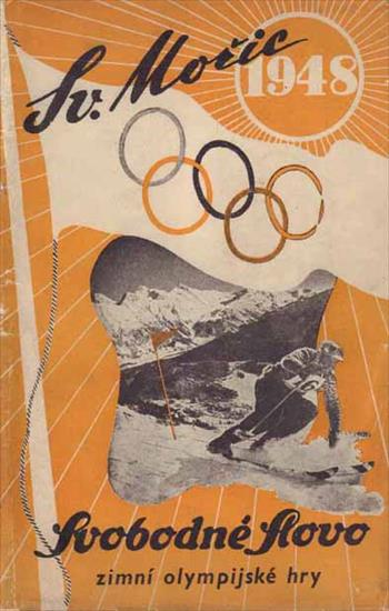 SV. MORIC 1948 (Review CSSR Olympic Winter Games 1948 Skt. Moritz)