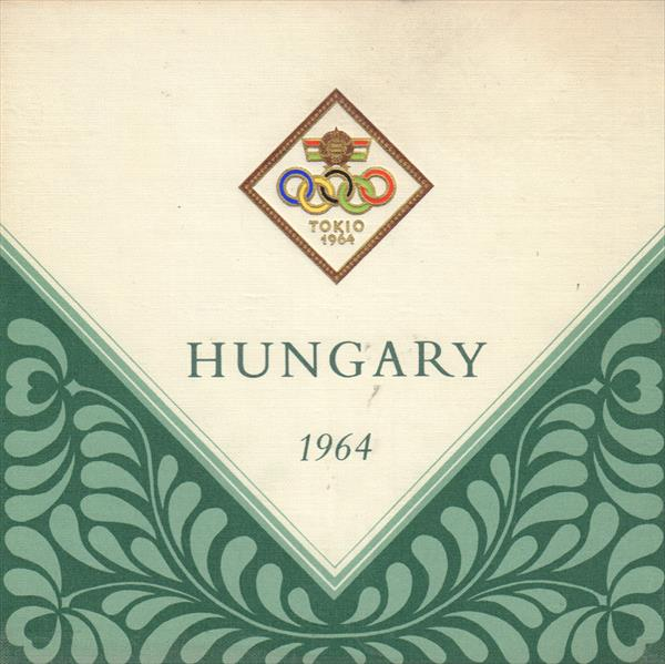 MEDIA GUIDE HUNGARY OLYMPIC GAMES TOKIO 1964