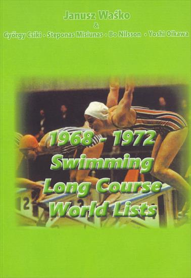 1968-1972 SWIMMING LONG COURSE WORLD LISTS