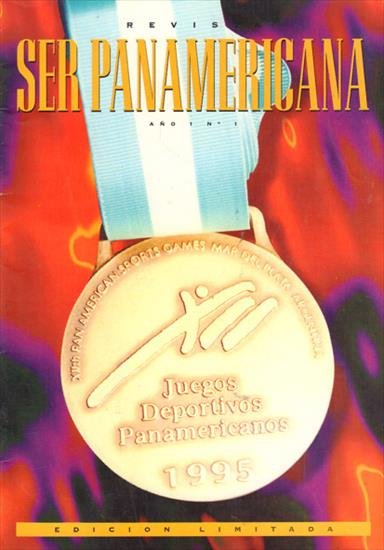 REVISTA SER PANAMERICANA. PHOTO BOOK JUEGOS DEPORTIVOS PANAMERICANOS 1995 (Review)