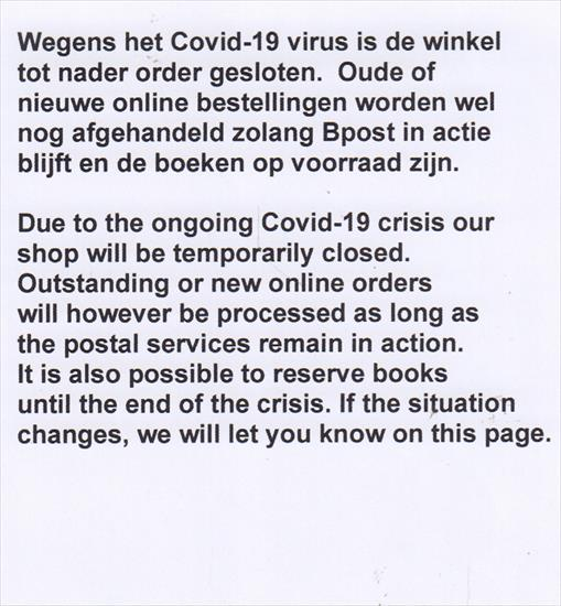 COVID-19 / CORONA VIRUS UPDATE SITUATION