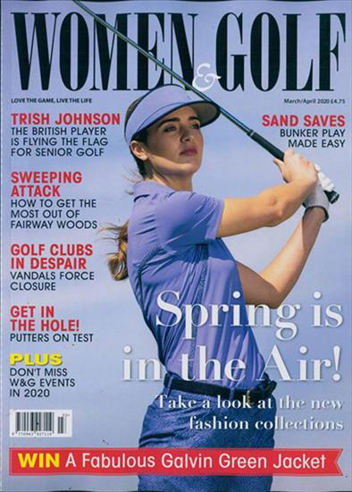 WOMEN AND GOLF MAGAZINE MARCH / APRIL 2020