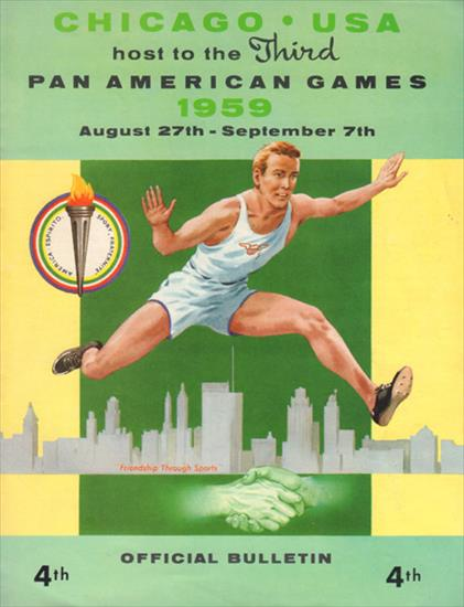 OFFICIAL BULLETIN THIRD PAN-AMERICAN GAMES CHICAGO 1959 N° 4