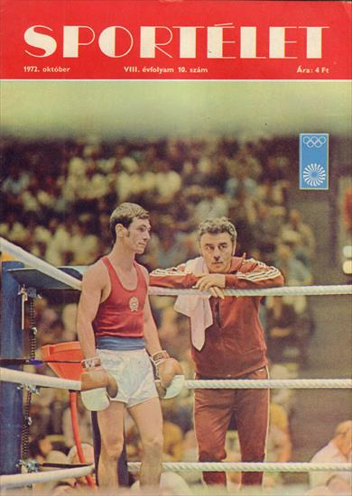 XX. NYARI OLIMPIAI JATEKOK 1972 (Sportelet / Hungary)(Top Revieww Portraits Hungarian Team))