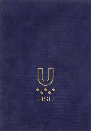 FISU 50 ANS YEARS ANOS (50 Years of the International University Sports Federation)(X-L Deluxe in Box)