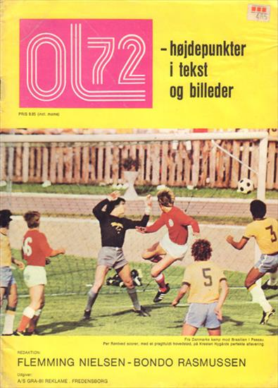 OL 72 - HOJDEPUNKTER I TEKST OG BILLEDER (Review Olympic Games 1972)
