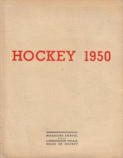 HOCKEY 1950. ANNUEL ILLUSTRE L