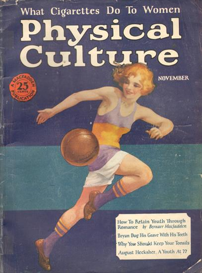 PHYSICAL CULTURE USA - NOVEMBER 1925