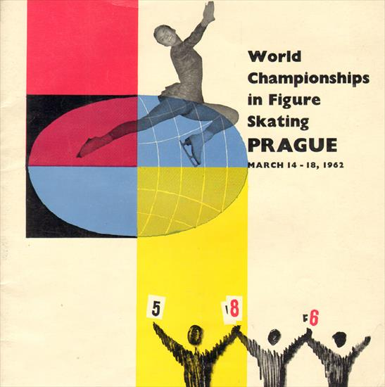 OFFICIAL PROGRAM WORLD CHAMPIONSHIP ICE FIGURE SKATING 1962